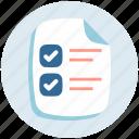appointment, checklist, list, tasklist, to do icon