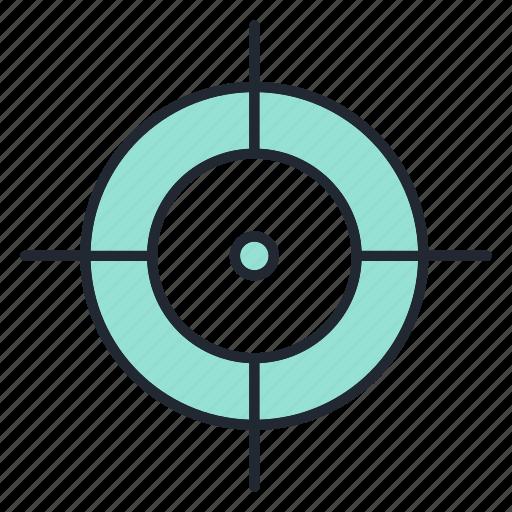 business, finance, marketing, target icon