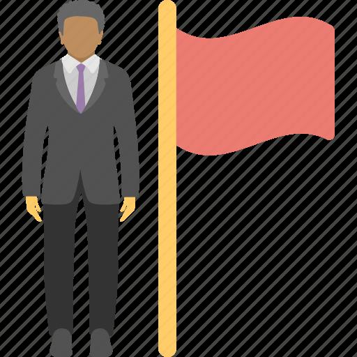 business achievement, challenge, successful businessman, successful mission, victory icon