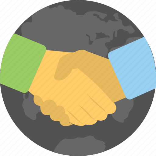 business deal, business shake hands, future business, partnership agreement, profitable business icon