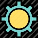 business, cogwheel, engine, engineering, process, web, wheel icon