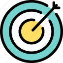 business, dart, dartboard, goal, marketing, strategy, target icon