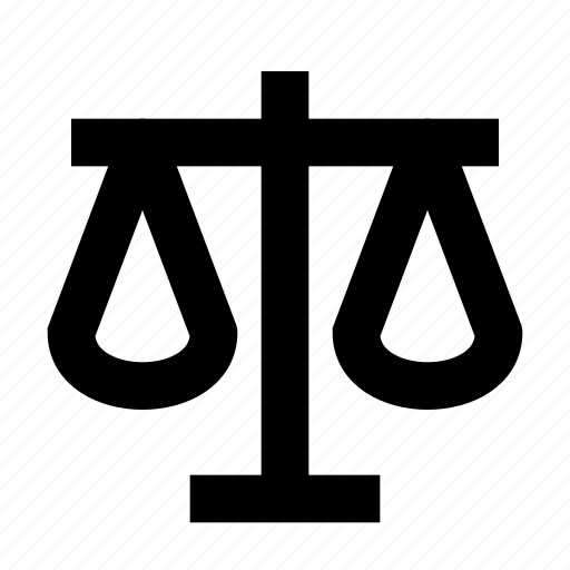 balance, business, finance, law, scales icon