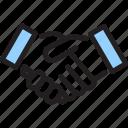 hand, handshake, meeting, meetup, shake icon