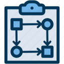 plan, business, strategy icon