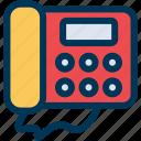 contact, phone, telephone icon