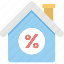 home loan, housing, mortgage rates, property, real estate icon