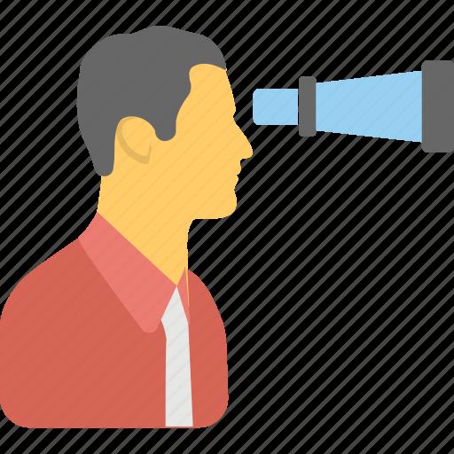binocular, search, surveillance, vision, zoom icon