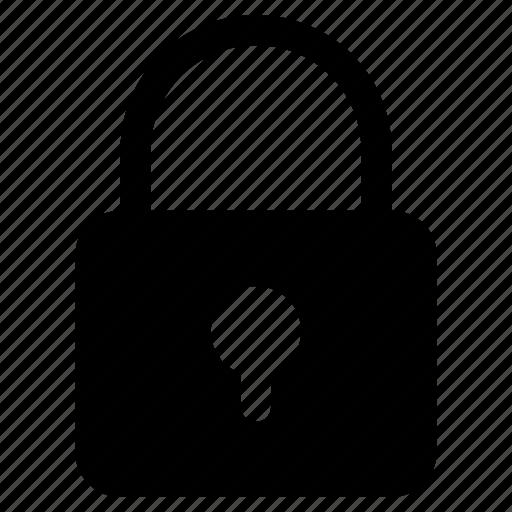 lock, padlock, passcode, password, security icon