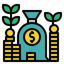earn, income, money, profit, revenue icon