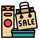 bag, buy, discount, sale, shopping icon
