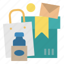 bag, boxes, carton, delivery, package icon
