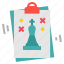 chess, planning, solution, strategy icon