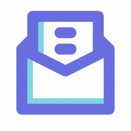 e, email, newsletter icon