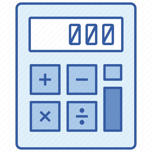 business, calculator, math, number icon