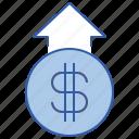 cash, earning, money, profit icon