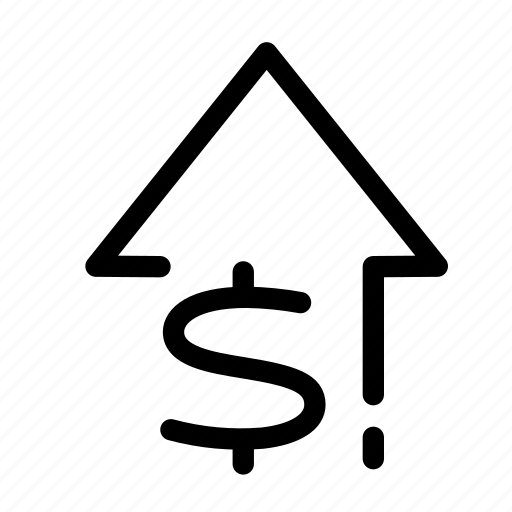 Arrow, growth, increase, increase3, money, profit, seo icon - Download on Iconfinder