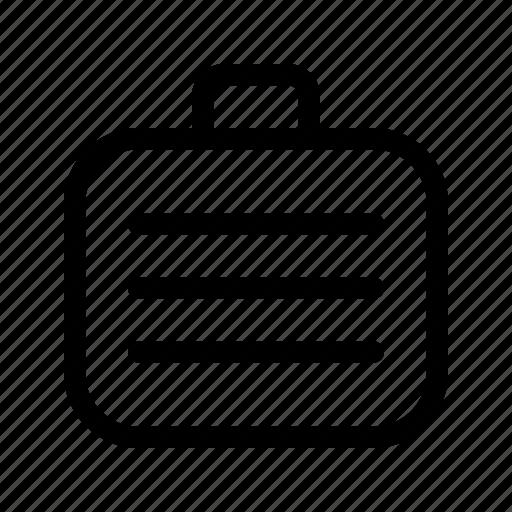 Briefcase, briefcase2, business, portfolio, suitcase, work icon - Download on Iconfinder