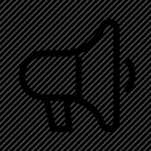 advertising, bullhorn, marketing, megaphone, promotion icon