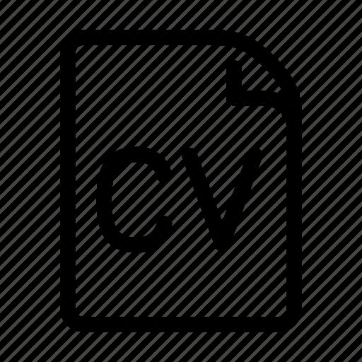 Cv, portfolie, profile, resume icon - Download on Iconfinder