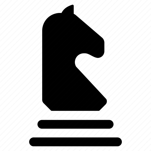 chess, chess game, chess knight, chess piece, strategy icon