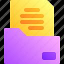 business, document, file, folder, task