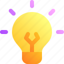 bulb, business, idea, lamp, think