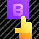 b, business, choice, click, hand, plan