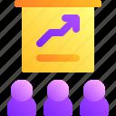 business, graph, graphic, presentation, team