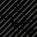 avatar, gear, left, right