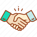 handshake, communication, connection, network, social