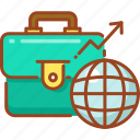bag, briefcase, business bag, luggage, portfolio icon