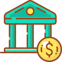 bank, banking, business, credit, dollar, money icon