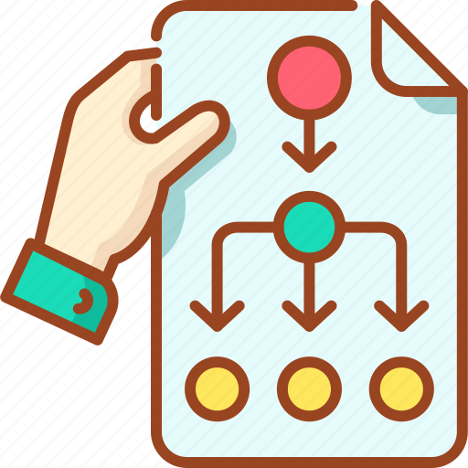 Chart, date, event, plan, project icon