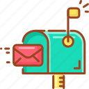 communication, email, letter, mail, message, text icon