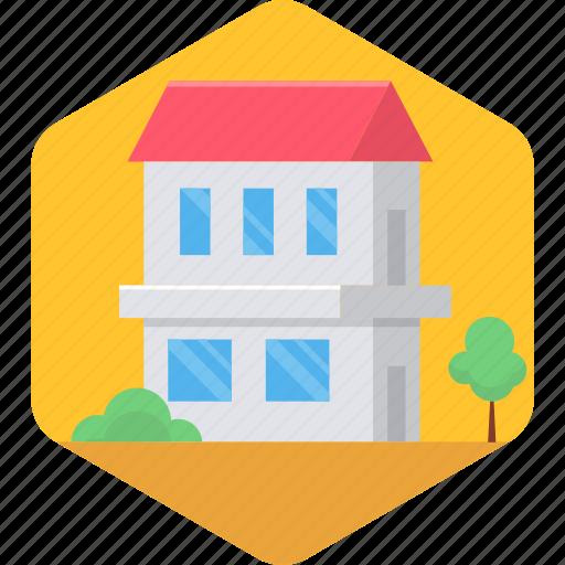 architecture, building, farm house, farmhouse, home, house, village icon