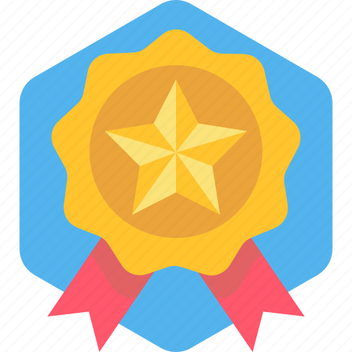 award, first, medal, prize, ribbon, win, winner icon