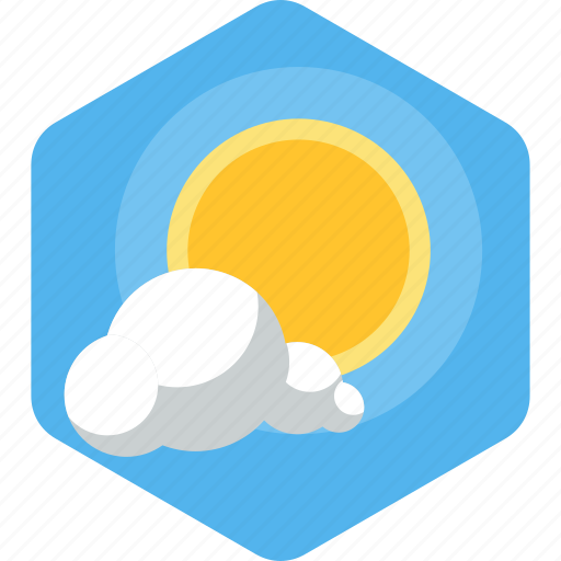 beach, cloud, nature, rays, rising, summer, sun icon