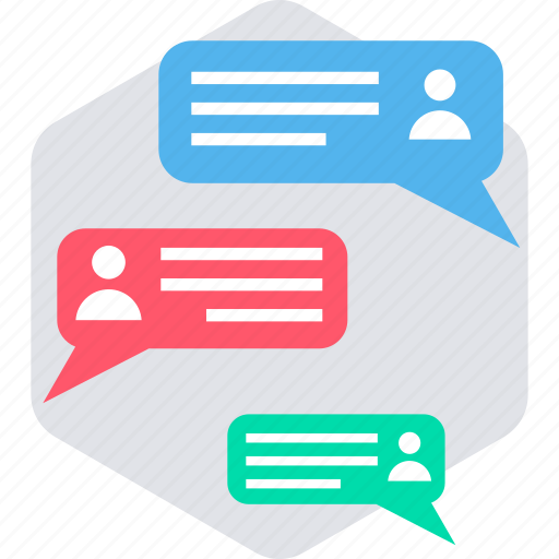 comment, conversation, discussion, feedback, livechat, message, response icon