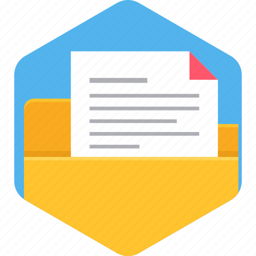 document, file, folder, format, page, paper, sheet icon