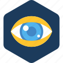 care, eye, find, look, see, view, vision icon
