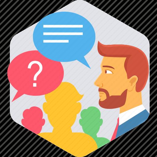 Fake, media, people, profile, social, user, users icon