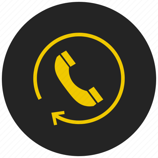 dialling, incoming call, outgoing call, phone, refresh contact, ringing icon