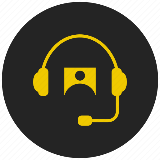 audio, customer support, head phones, headset, helpdesk, music, sound icon