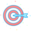 business, company, economic, finance, interprise, target icon