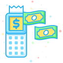 business, economic, finance, interprise, of, point, services icon