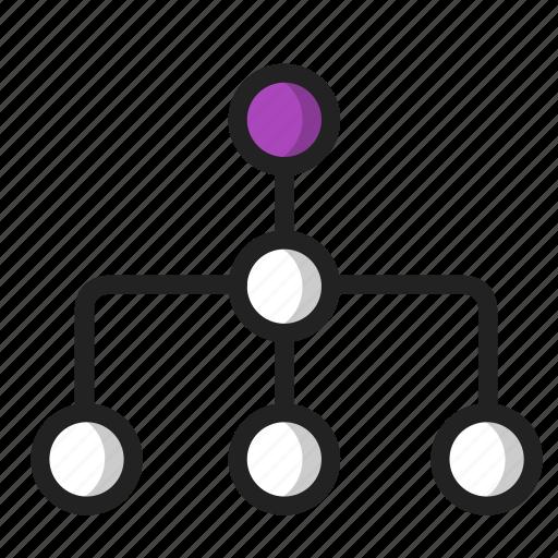 business, finance, organization, structure icon