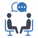 communication, conversation, discussion, meeting icon