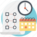 calendar, clock, deadline, event, planning icon