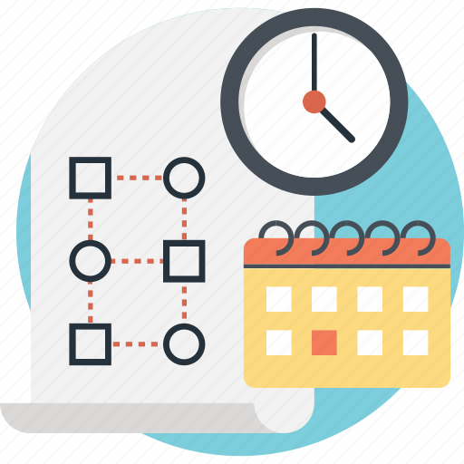 Calendar, clock, deadline, event, planning icon - Download on Iconfinder